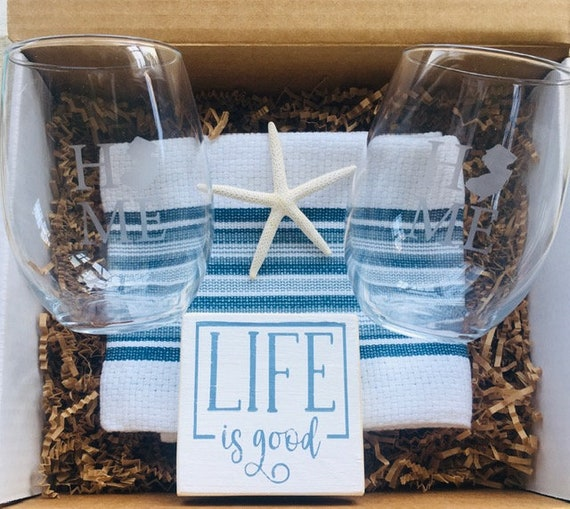 Housewarming Gift Set ~ New Jersey Gift Box ~ Christmas ~ Gifts For New Home Owner - Realtor - Sister Friend Gift ~ Congratulations