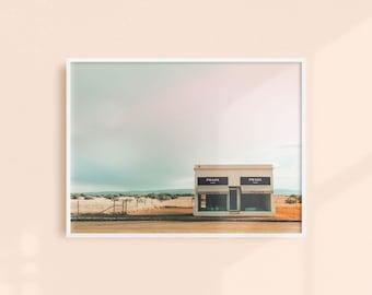 Marfa Store, Texas Photography Print