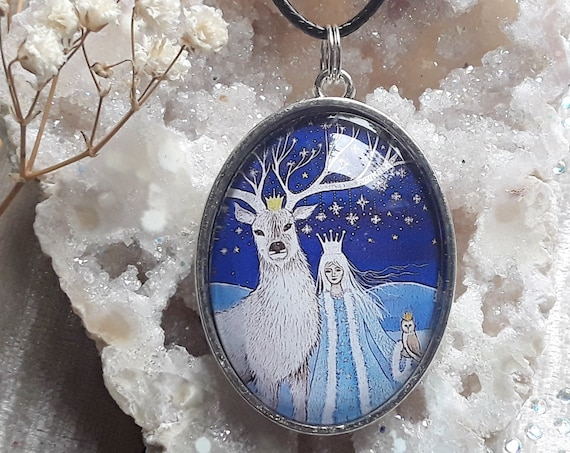 Goddess Necklace - Goddess Pendant - Pagan - Wiccan Jewellery - Spiritual - Goddess Gifts