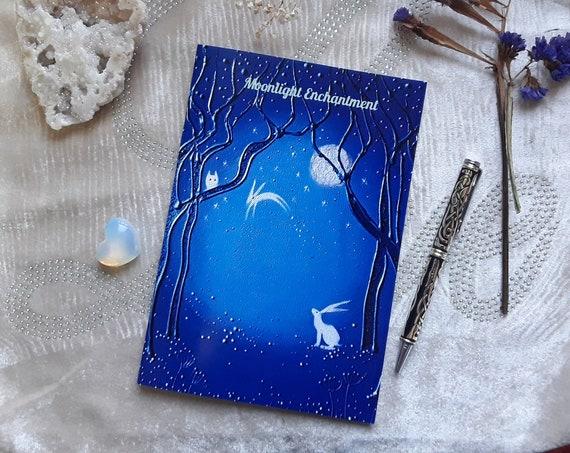 Spirit Hare Notebook - A5 Notebook - Art Journal - Arty Gifts