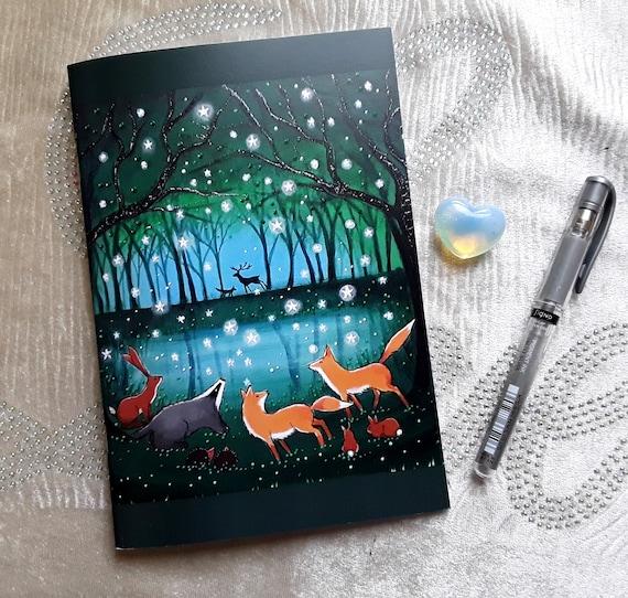 Mystical Notebook - Art Journal - Arty Gift - Writers Gift - Jotter