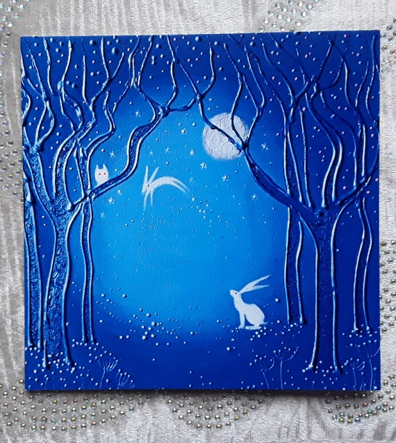 Spirit Hare Art Card