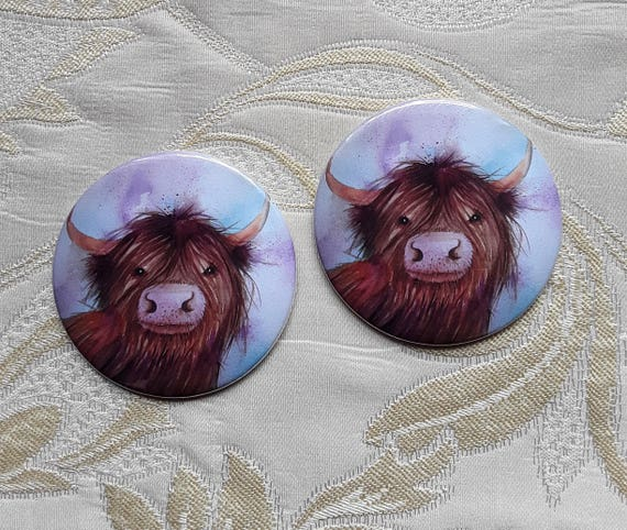 Heeland Coo Pocket Mirror