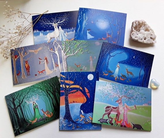 The Forest Goddess Collection - Goddess Cards - Mystical Cards
