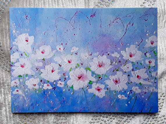 Shabby Chic Roses high quality art card