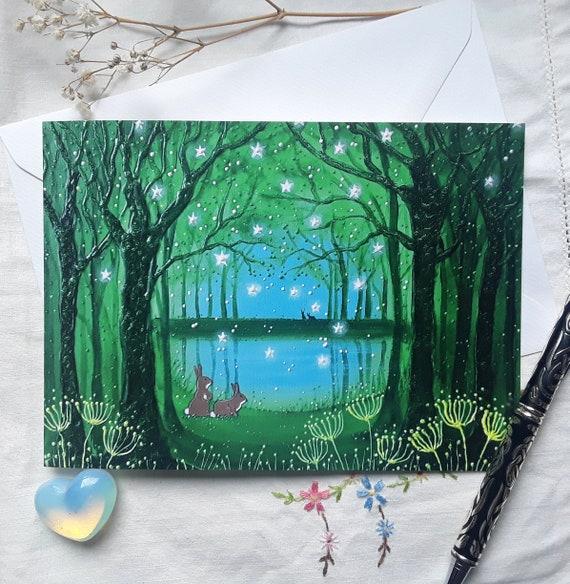 We'll Meet Again - Rabbit Card - Mystical Card - Mystical Pool - Pagan
