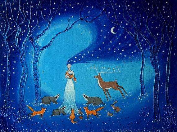 Goddess of Night and Protection Sinterex Print