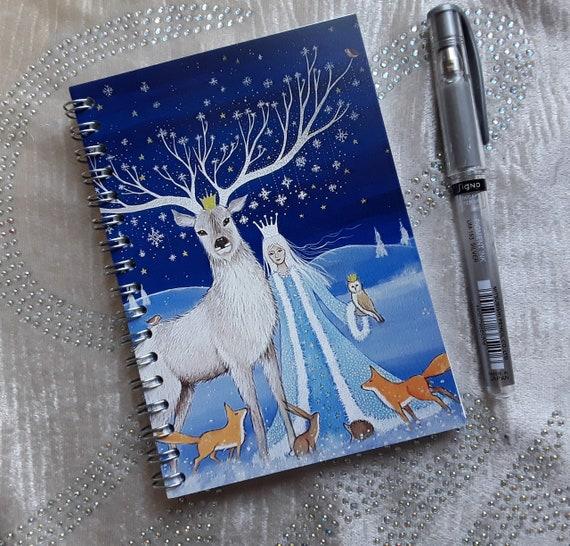 Goddess Notebook - Mystical Notebook - Journal - Arty Gift - Stocking Filler