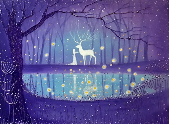 The Magic Pool - Very high quality print from my original painting