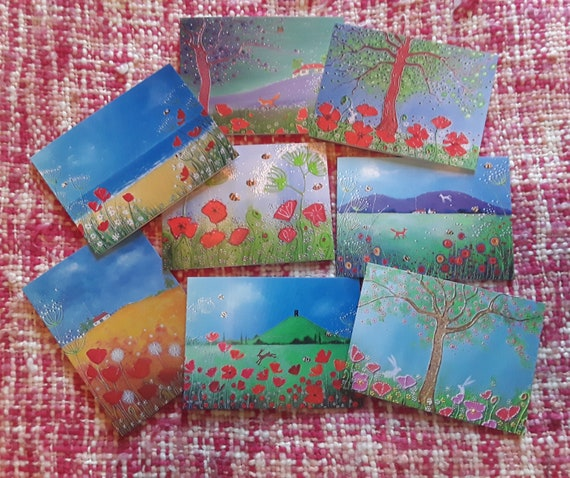 Mystical Summer Cards - Summer cards - Poppies