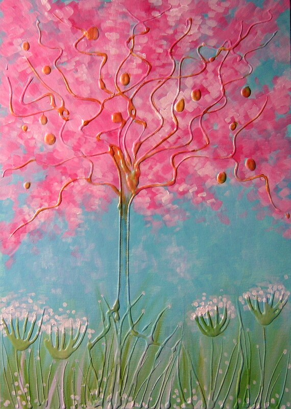 Spring Blossom - High Quality A4 Art Print