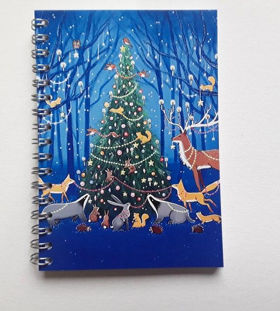 Mystical Notebook - Christmas Journal - Pagan - Wiccan - Wildwood Notebook