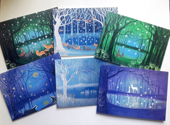 Enchanted Pool Cards - Mystical Pools - Spiritual - Pagan - Wiccan