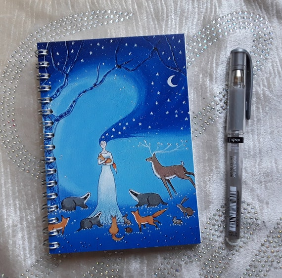 Goddess Notebook - Arty Gift - Writers Gift - Journal - Pagan - Wiccan
