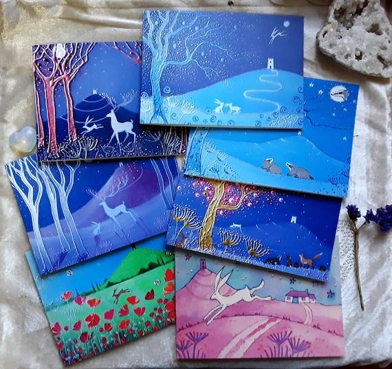 The Mystical Tor Collection - Glastonbury Tor - Spiritual Cards