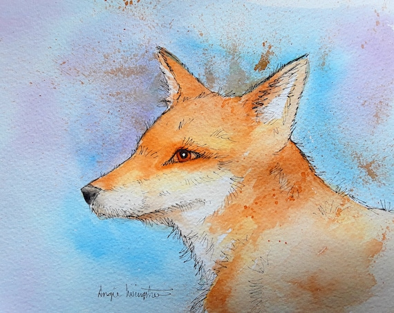 Fox - Very high quality art print