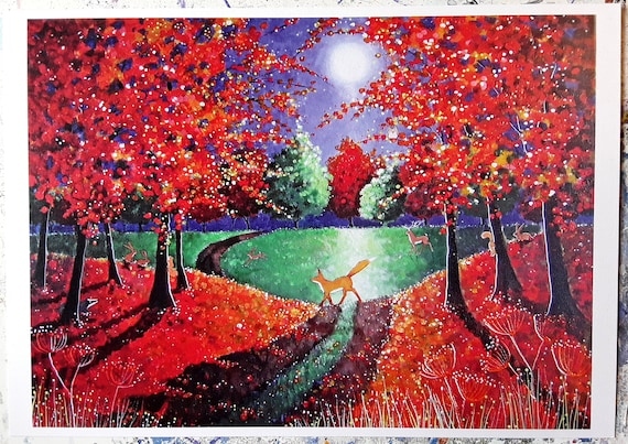 Large Print - Enchanted Autumn - Extremely High Quality Sinterescent Print