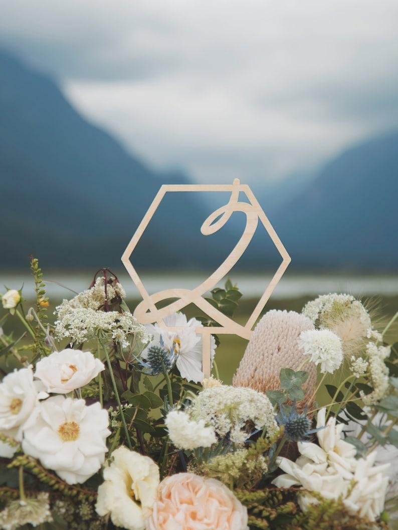 Swell Modern Table Numbers Wedding Centerpieces Fall Wedding Decor Winter Wedding Decor Download Free Architecture Designs Remcamadebymaigaardcom