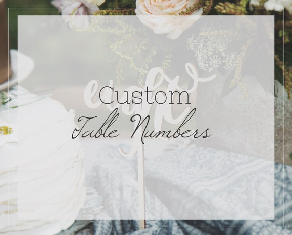 Peachy Custom Wedding Table Numbers Wedding Centerpieces Fall Wedding Decor Winter Wedding Decor Download Free Architecture Designs Remcamadebymaigaardcom