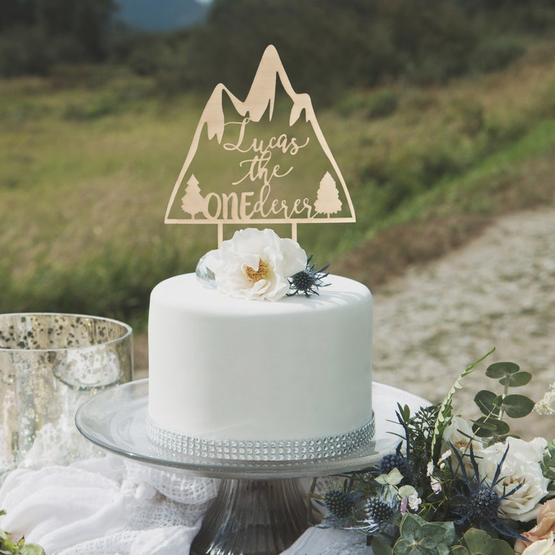 ONEderer Cake Topper Onederful Birthday First
