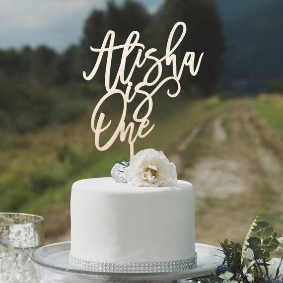 Custom Birthday Cake Topper 30th 40th