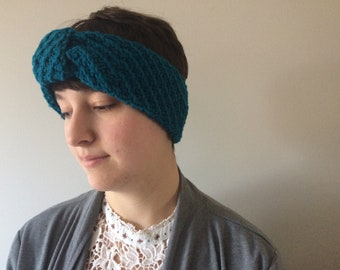Headband/earwarmer PDF knitting pattern