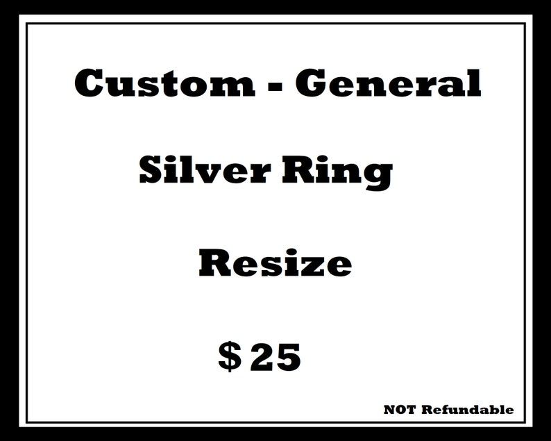 Simple Silver Ring Resize image 0