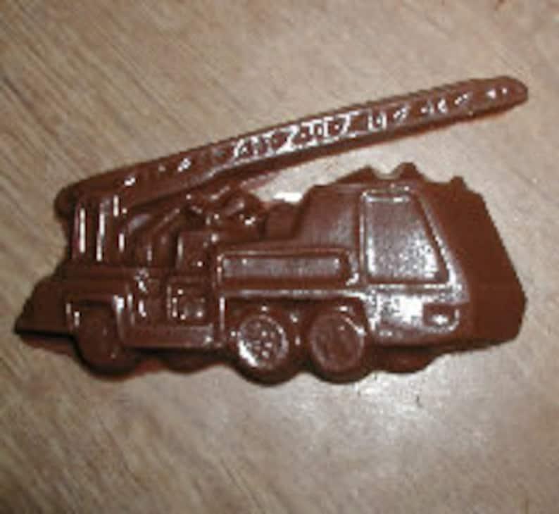 Fire Truck Chocolate Mold