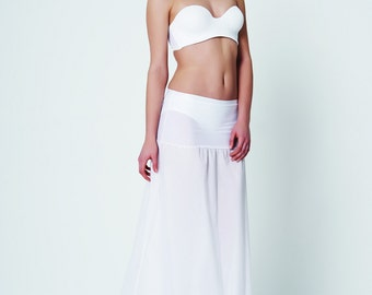 Wedding Petticoat | bridal hoop | bridal slip | white A line petti