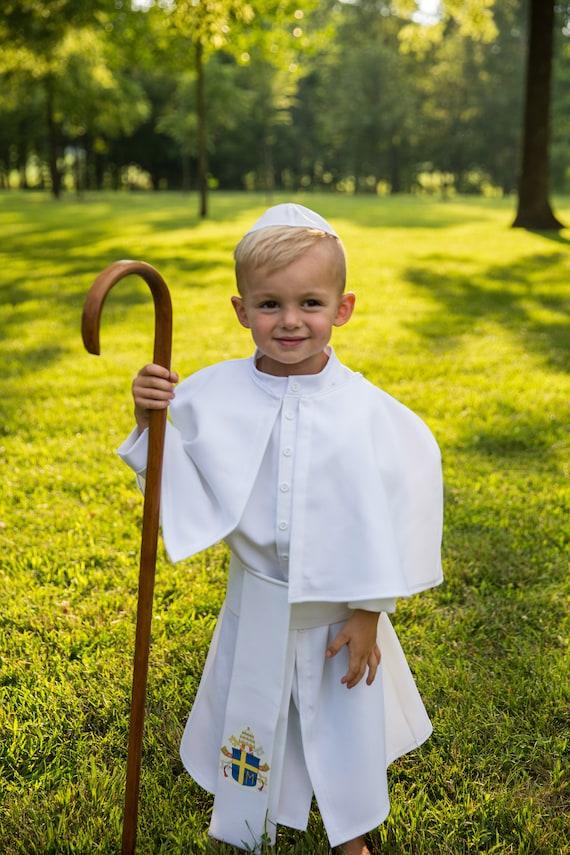 San Juan Pablo Ii El Gran Traje Para Los Niños Etsy