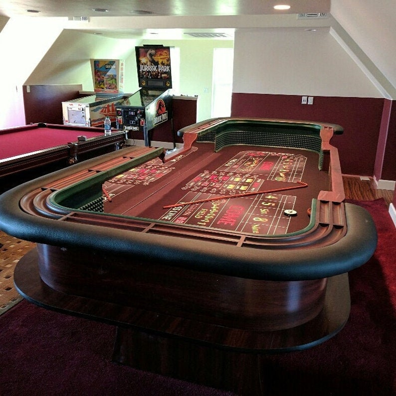 Fabulous 12 Casino Style Craps Table Custom Made To Order From Our Factory In Arizona Beutiful Home Inspiration Ommitmahrainfo