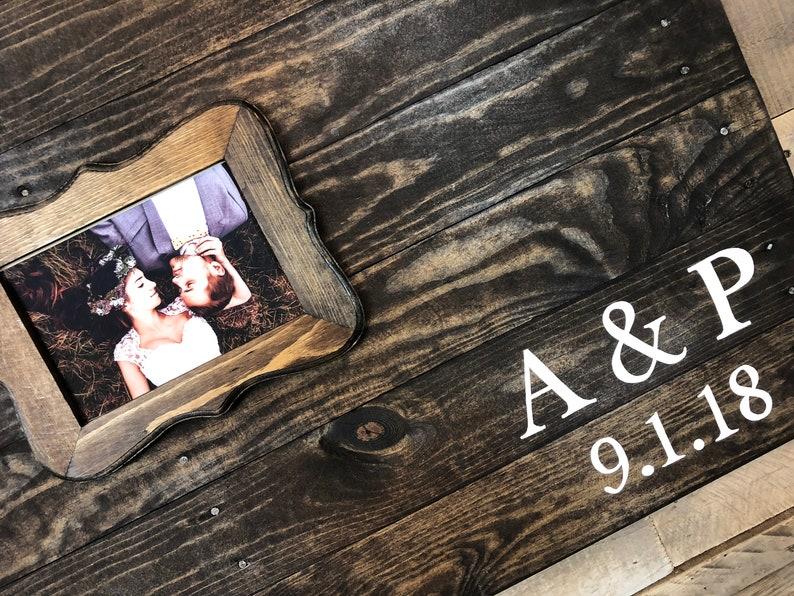 Wood pallet, wedding Guest book Alternative, wood wedding decor, up-cycled  pallet, event Guest book, photo guest book, large 24X36