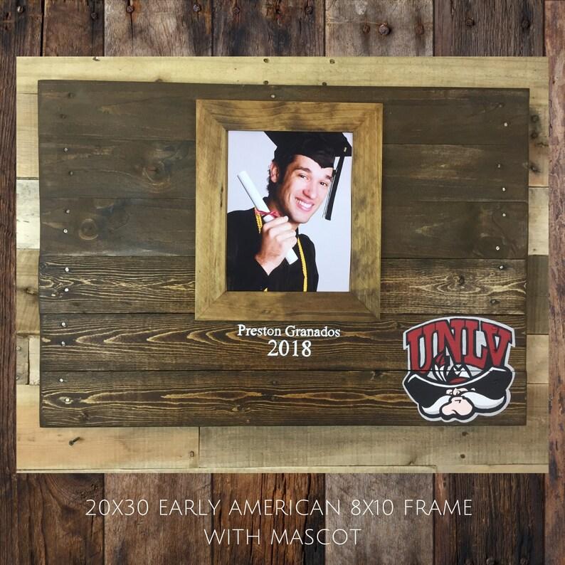 24x36 Wood pallet Graduation sign, Graduation decor, Framed Photo  guestbook, graduation gift, class of 2019, keepsake, wooden guest book