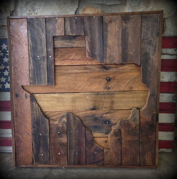 Items Similar To Wood Texas Pallet Sign, Wall Hangings