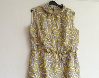 Vintage Dress, Dummer Dress, Women's Dress, Vintage Clothing