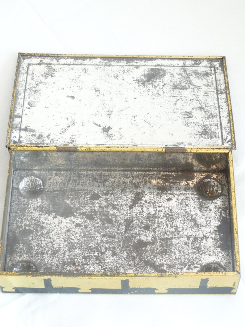 Vintage Chocolate Tin