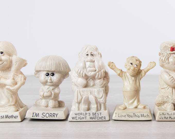Russ Berry Dolls - Vintage White Collectible Figurines