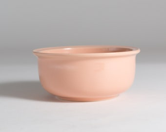 Vintage Pink Ceramic Bowls - Dusty Rose Pet Food Bowl- Cat or Dog Dish - Cereal Bowl