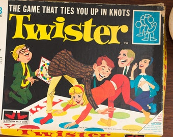 Vintage Twister Board Game - Made in England by Arrow Games Limited