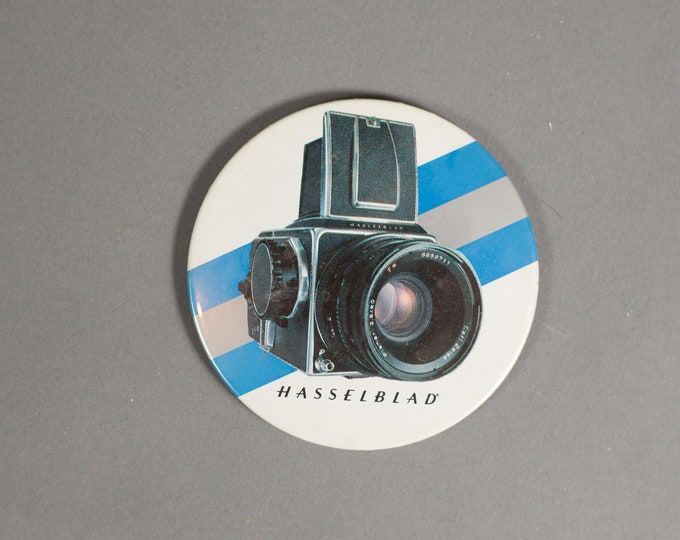 Hasselblad Button - Collectible Vintage Film Camera Round Button