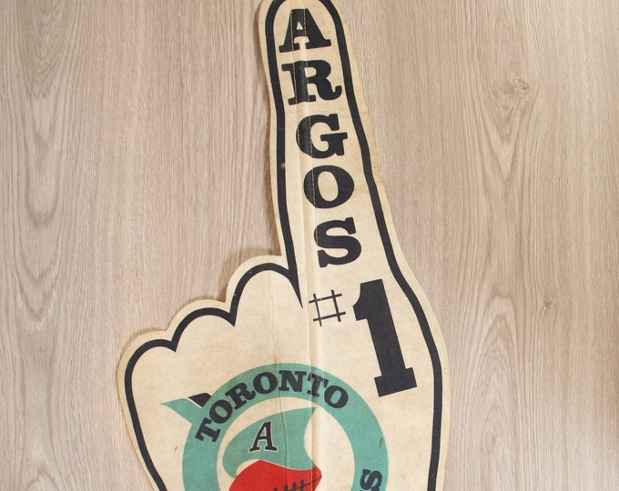 Toronto Argonauts Pennant - Vintage Felt Souvenir Hanging Triangle Shaped Sports Theme Wall Decor - Boys Room Wall Hanging