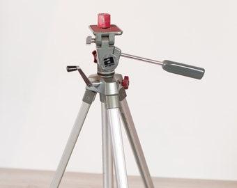 Lighting Tripod - Vintage Movie Camera Light Tripod - Argus Professional Tripod Model GD3500 - Made in Japan
