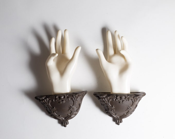 Jewelry Display - Ring, necklace or Bracelet Holders - Mannequin hand Display - Girls room Wall Hanging