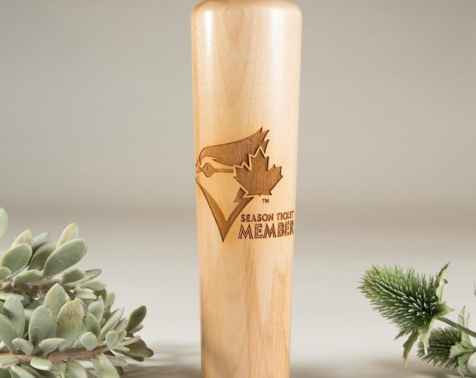 Blue Jays Dugout Mug® -  Baseball Bat Mug - Toronto Baseball Stadium Season Member Beer Cup - Gift for Dad - Groomsman Gift