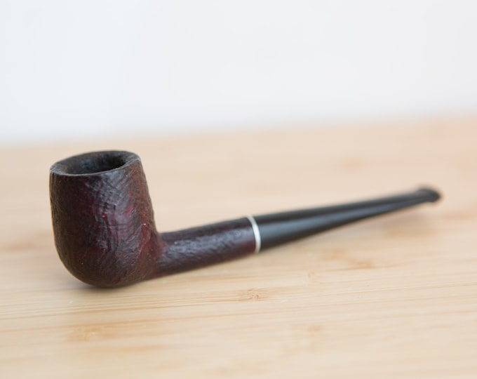 "Vintage Pipe - Stamped, ""Empire Genuine Briar"" - Hand Carved Wood Tobacco Pipe - Gift for Dad - Father's Day Gift"