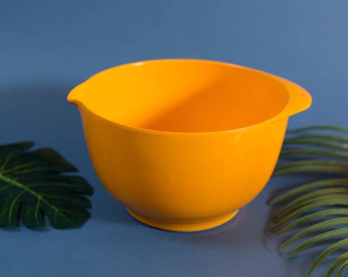 Rosti Yellow Bowl - 3L Vintage 60's/70's Mid Century Modern Baking Bowl - Mepal Service Rosti Denmark Kitchen Decor