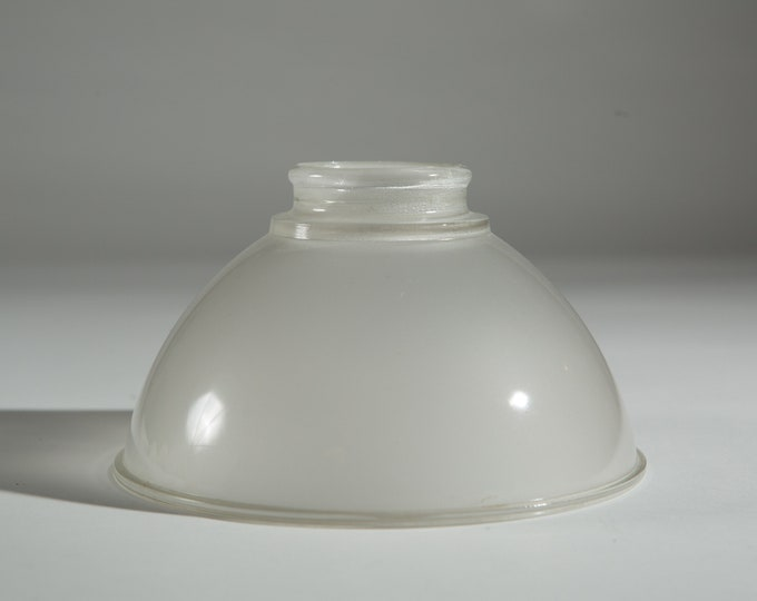 Vintage Glass Shade - Translucent Frosted Glass Pendant Chandelier Shade for Ceiling Fan Light Fixture or Lamp