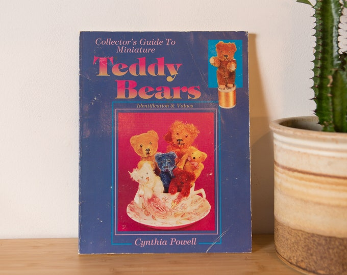 Collector's Guide to Miniature Teddy Bears: Identification & Values Paperback Book – September 1, 1993 by Cynthia Powell  (Author)