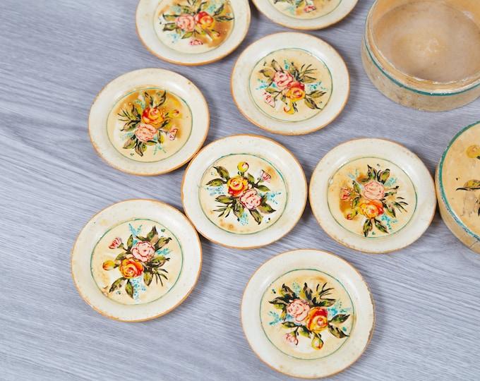 Vintage Decoupage Coasters