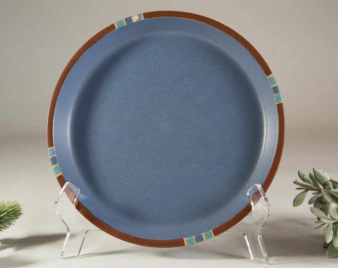Blue Dansk Plate - Norwegian Danish Modern Decor